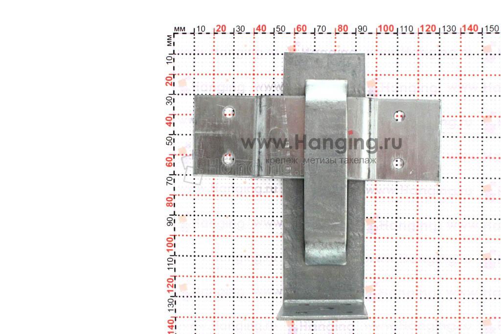 Характеристики и фото закрытой скользящей опоры для стропил 60х125х40