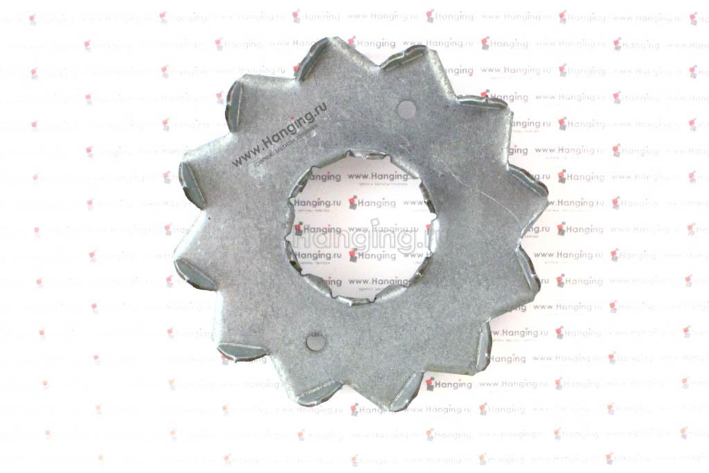 Пластина с шипами 95х33х1,5