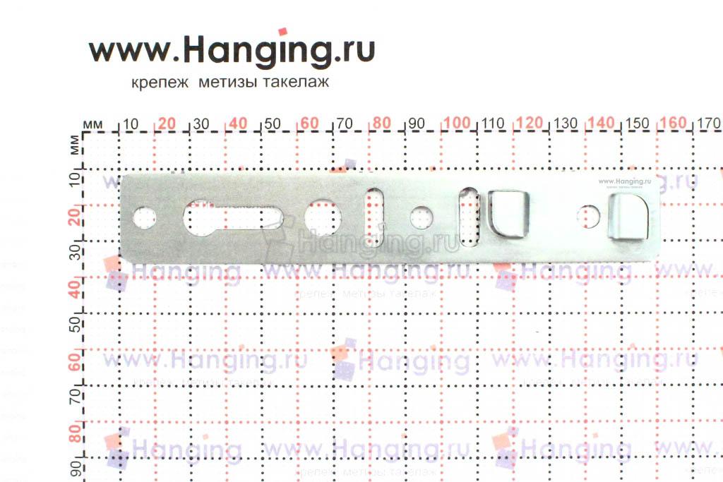 Размеры анкерных пластин для установки окон Тиссен, КБЕ, Ропласто