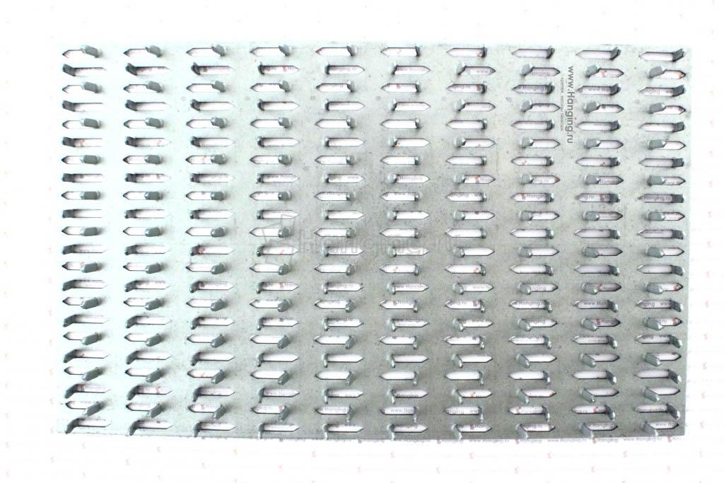 Шипованная пластина 156х254