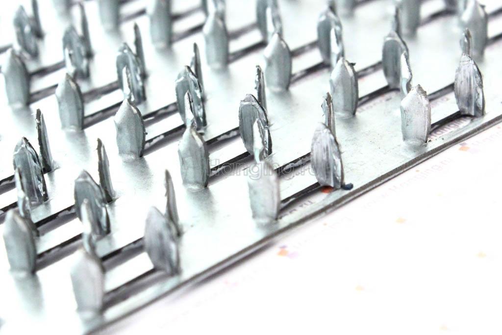 Шипы гвоздевой пластины 89х203