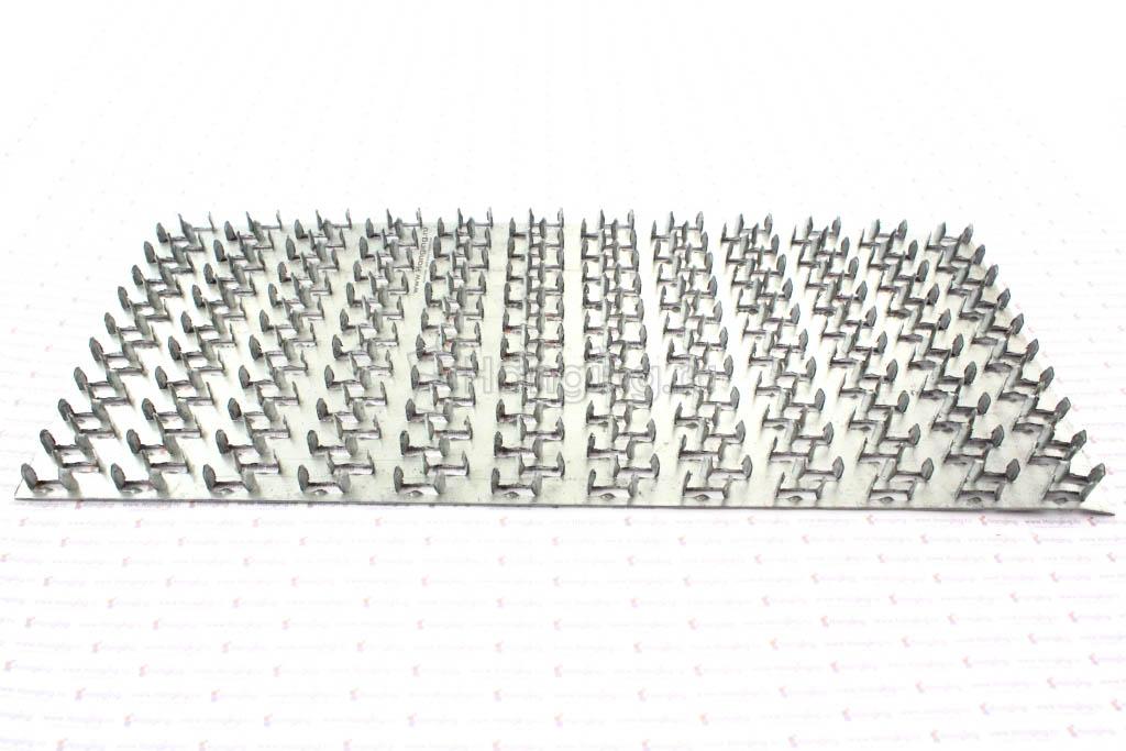 Пластина зубчатая 129х305х1
