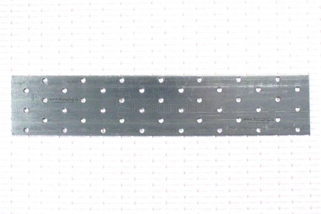 Крепежная перфорированная пластина 60х300 мм