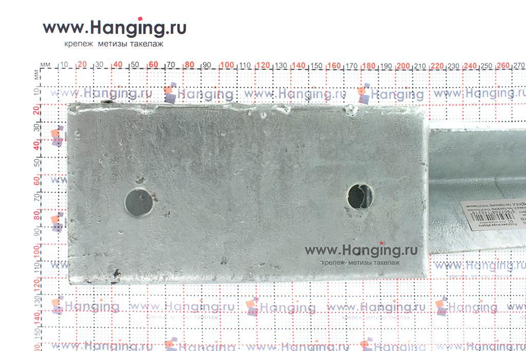 Размеры стакана забивного основания для столбов 750х150х71