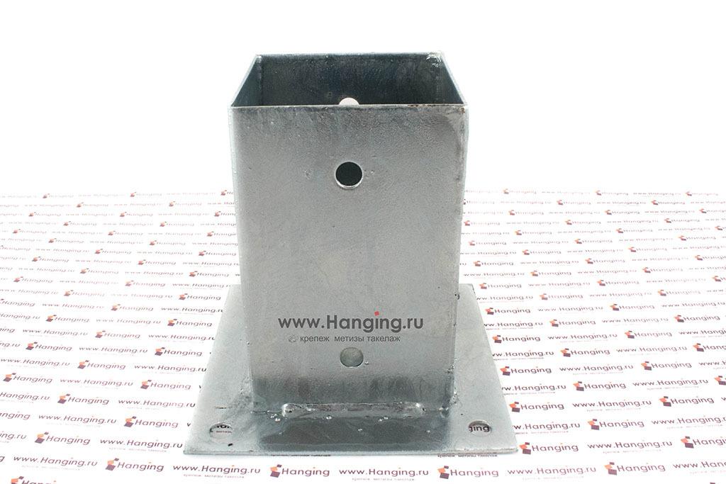 Основание для квадратных столбов 91 мм