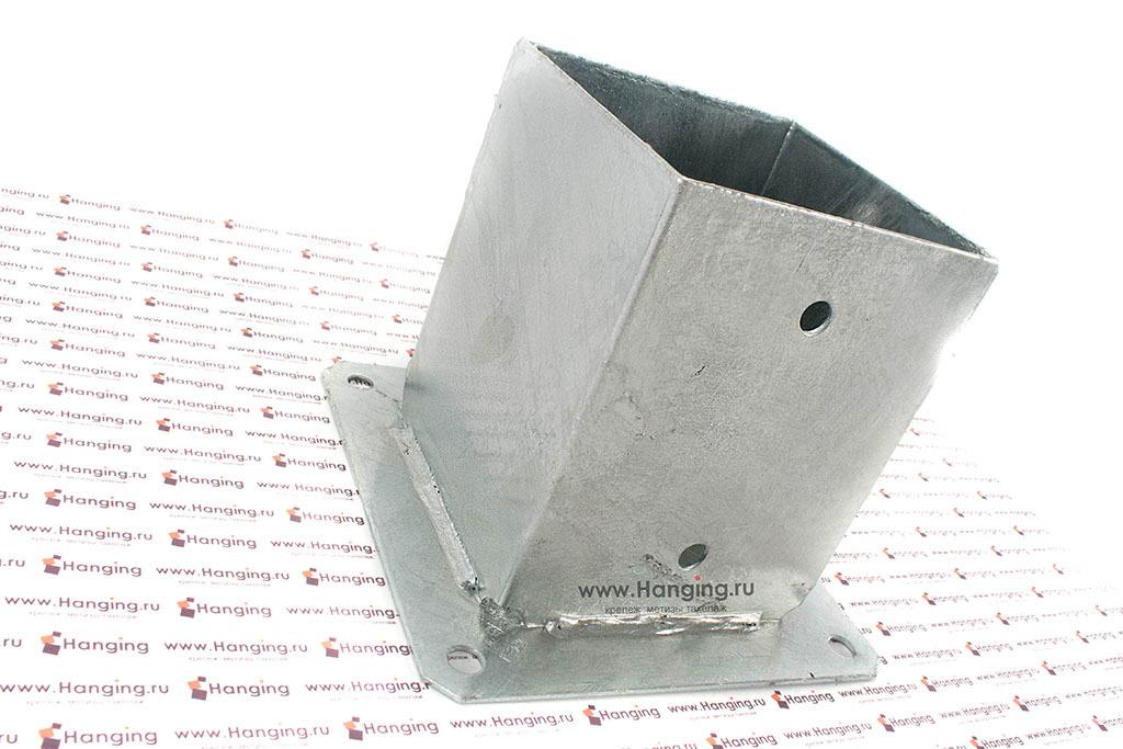 Основание для квадратных столбов стакан