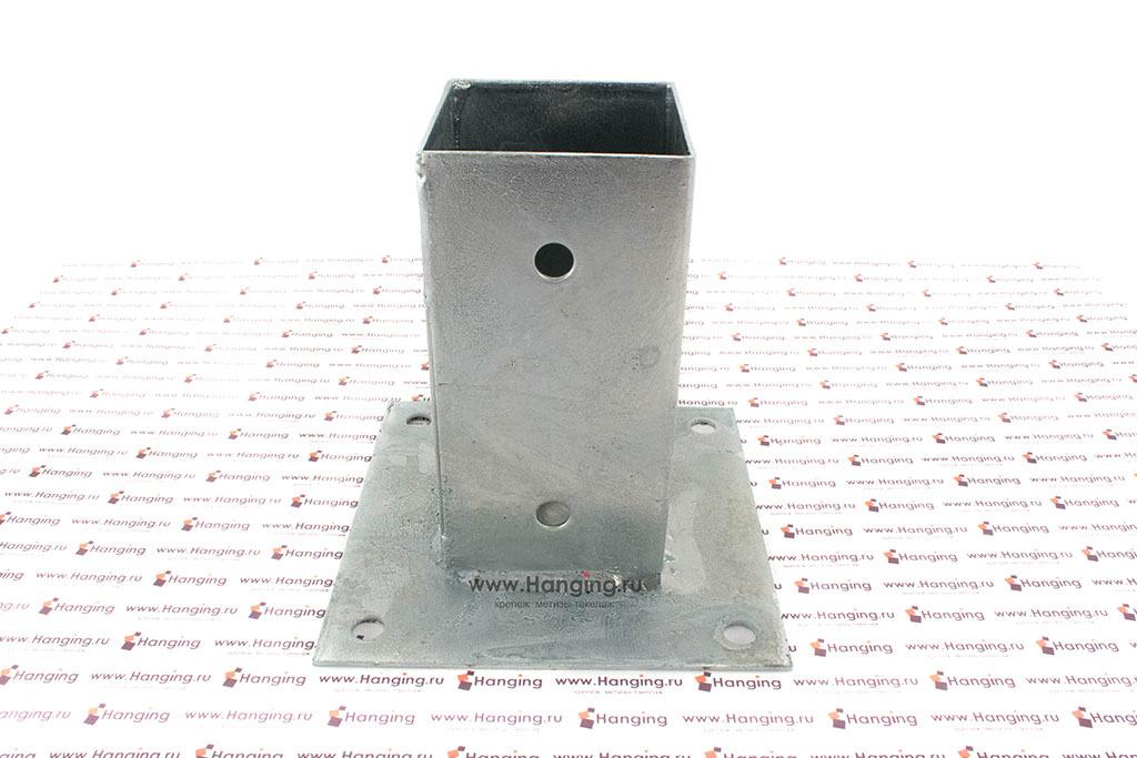 Основание для квадратных столбов 71 мм