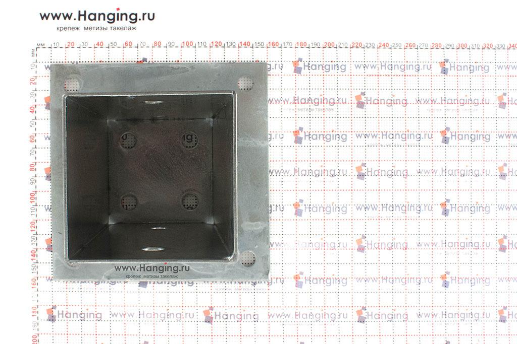 Размеры основания для квадратных столбов 71 мм