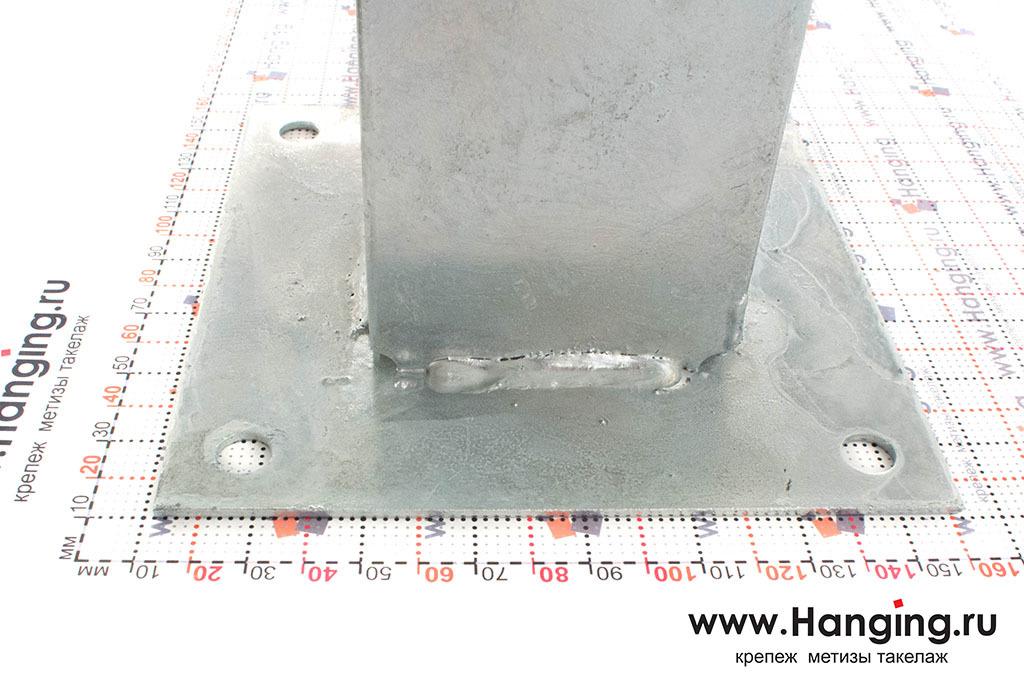 Размеры основания для квадратных столбов