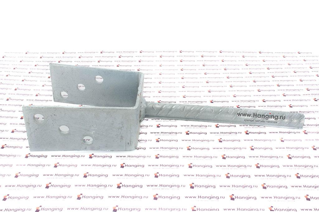 Анкерное основание столба тип U 80 мм