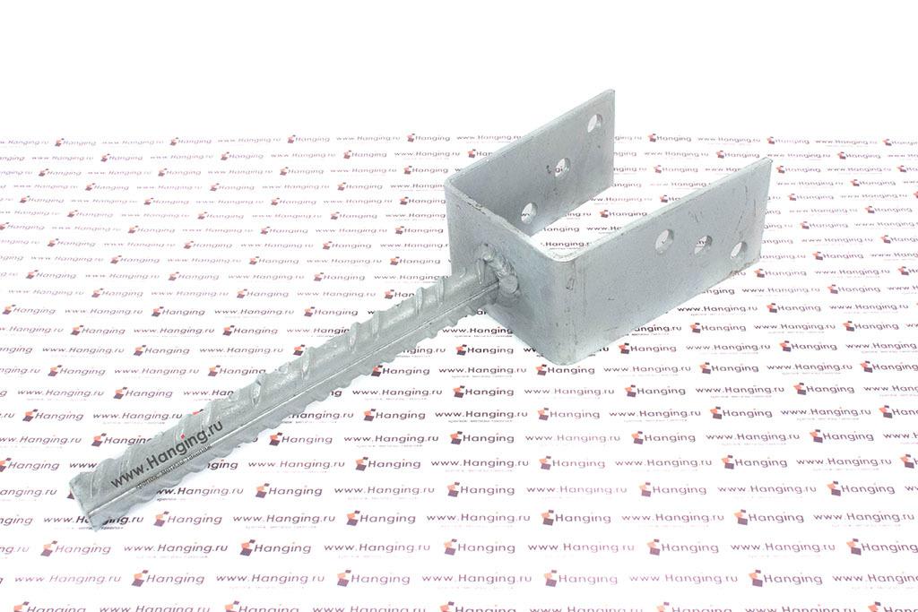 Анкерное основание столба 80 мм