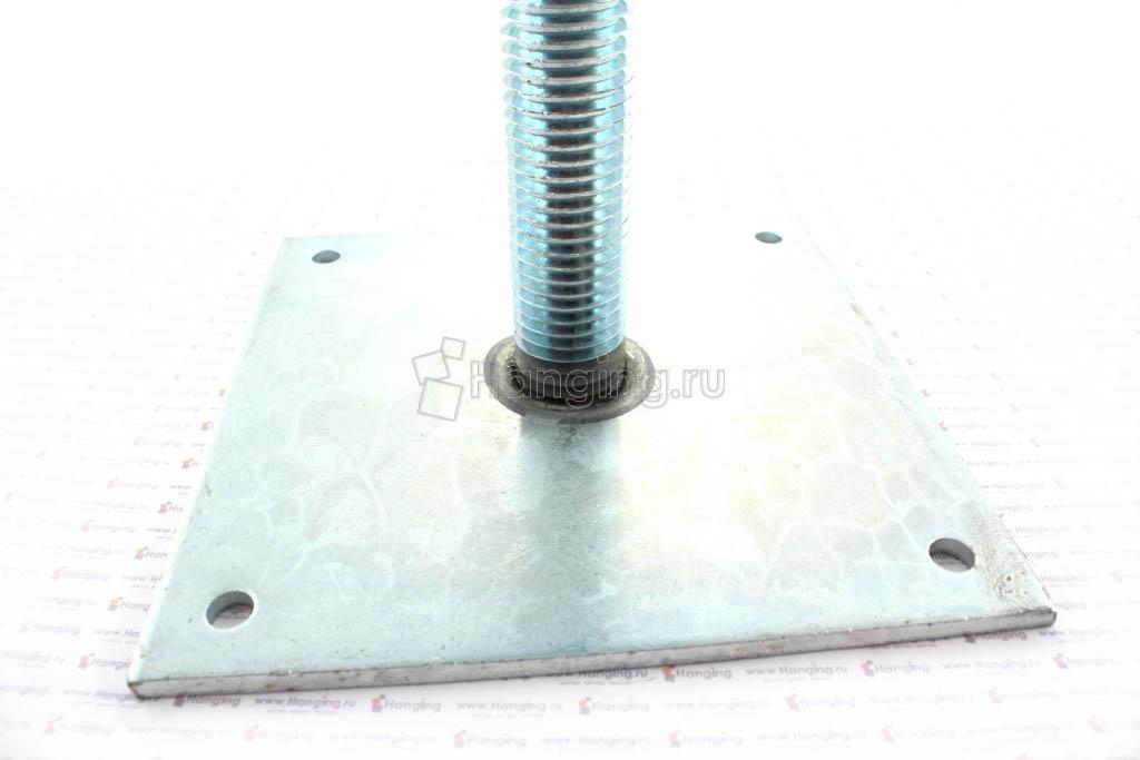 Винтовая опора 150х150 М24 H=200 мм