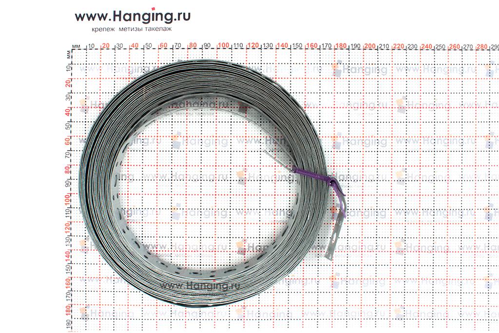 Размеры ленты прямой 20x0,7 (10 метров)