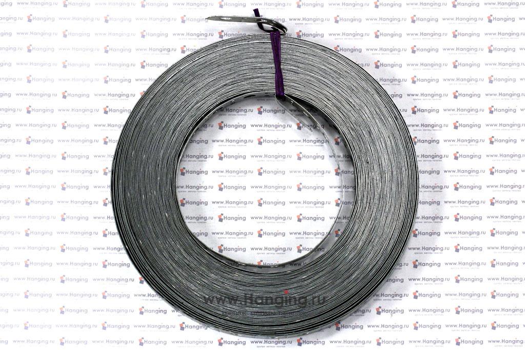 Фото рулона перфорированной прямой ленты шириной 20 мм толщиной 0,7 мм намоткой 25 метров