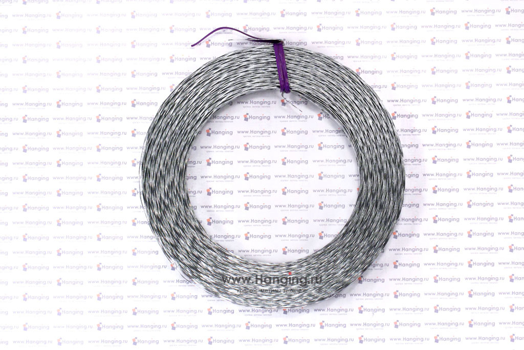 Рулон 25 метров волнистой ленты 17*0,5 мм