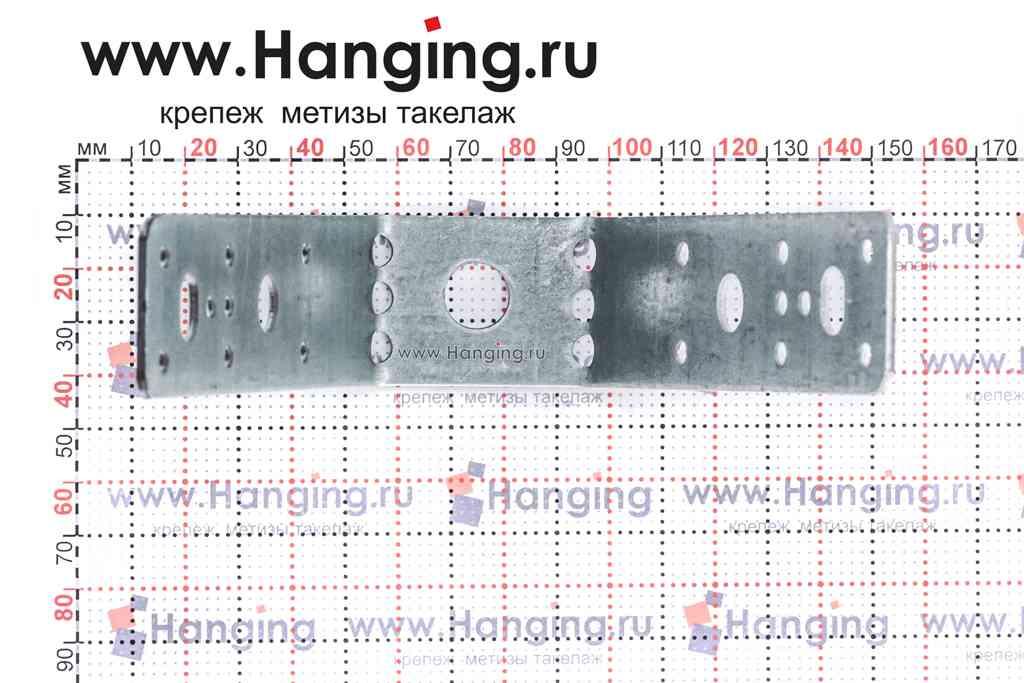 Крепление для профнастила с отверстием 12 мм