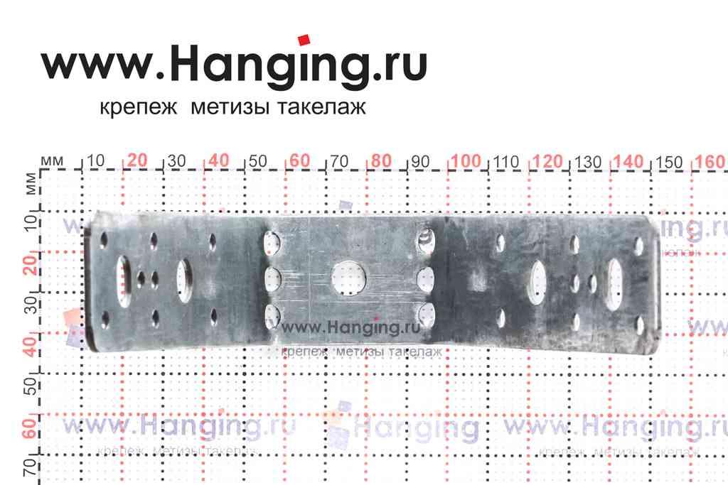 Крепление для профнастила с отверстием 8 мм