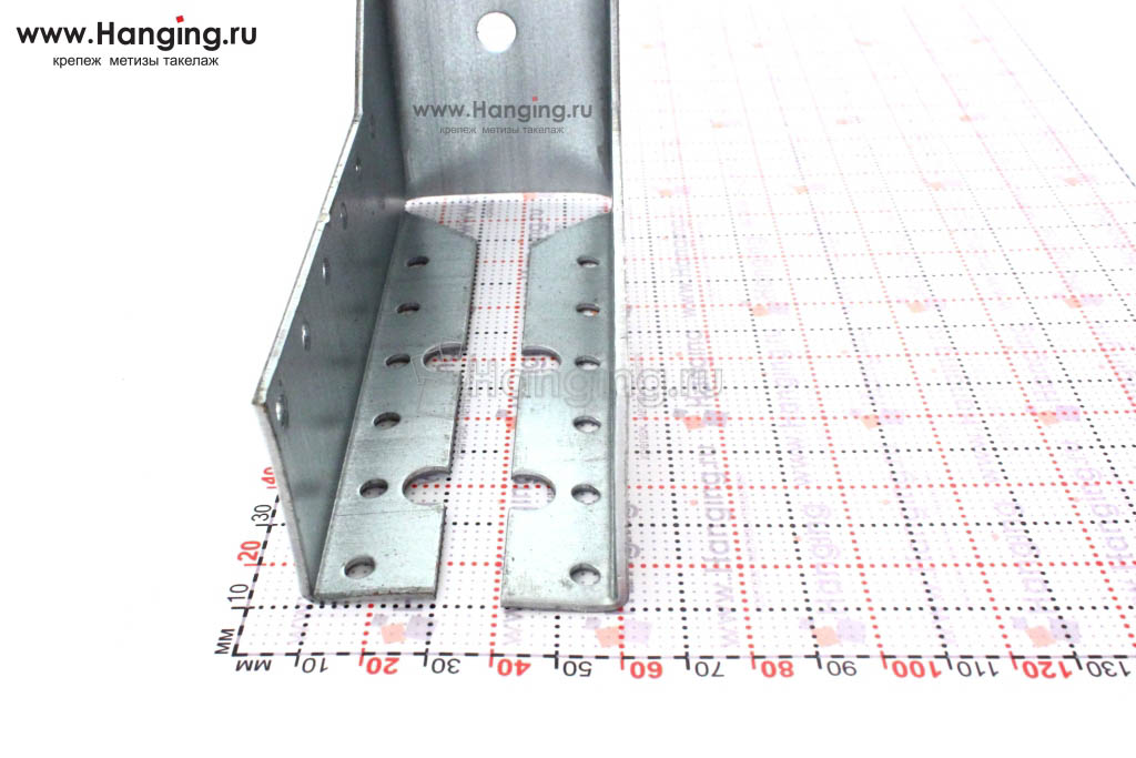 Опора для бруса 5 см высотой 14 см закрытого типа