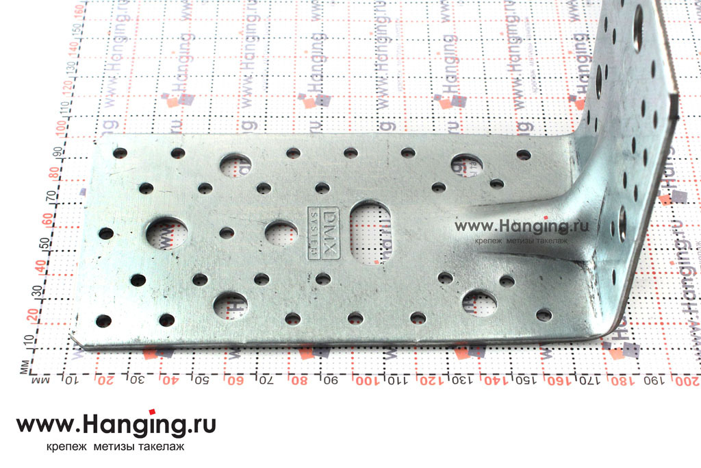 Сторона 172 мм уголка с ребром жесткости 172*105*90*3