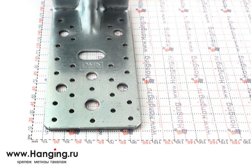 Ширина уголка стального усиленного 172х105х90х3