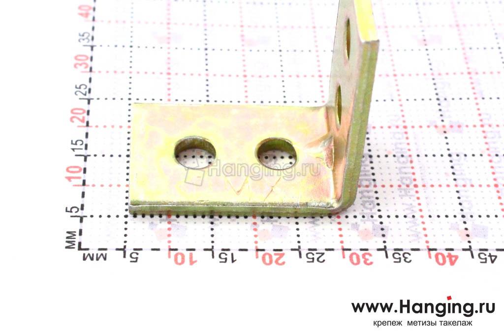 Уголок перфорированный узкий со стороной 25 мм