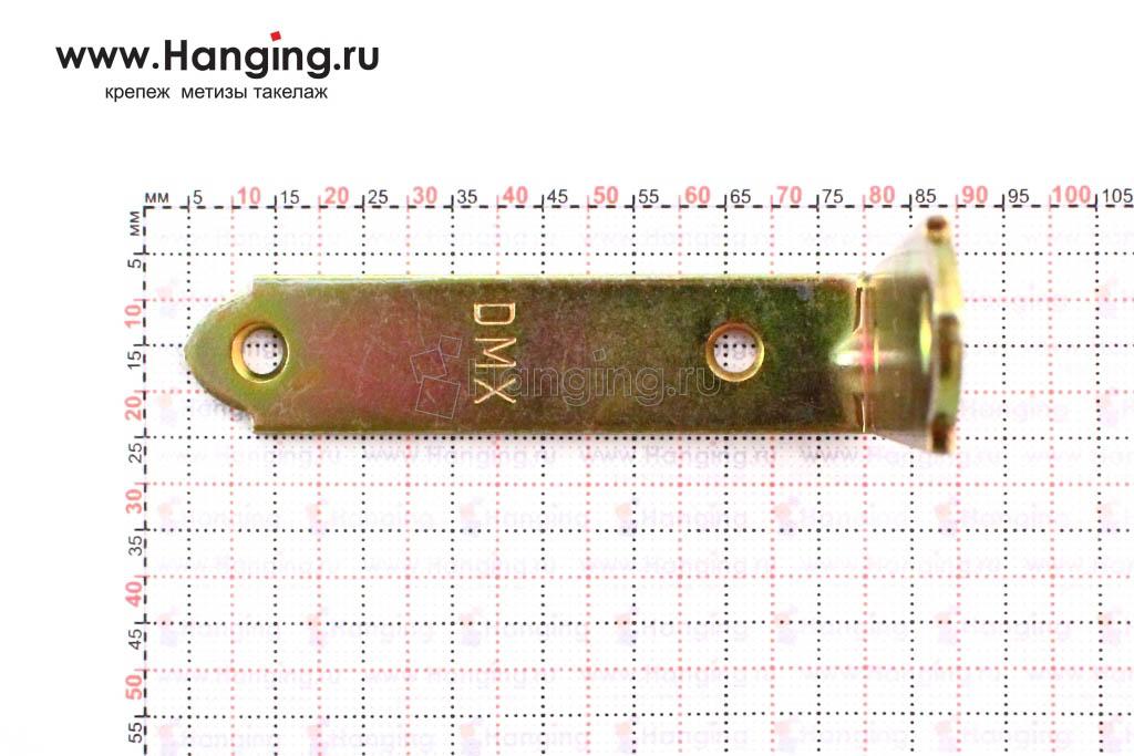 Размеры отверстий узкого уголка 75 мм на 17 мм