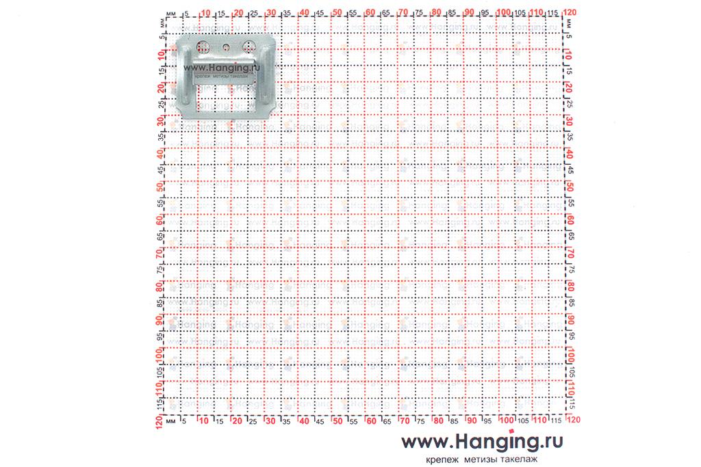 Размеры кляймера для блок-хаусов 8 мм