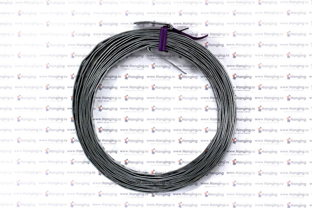 Рулон 5 метров стальной прямой ленты 20х1
