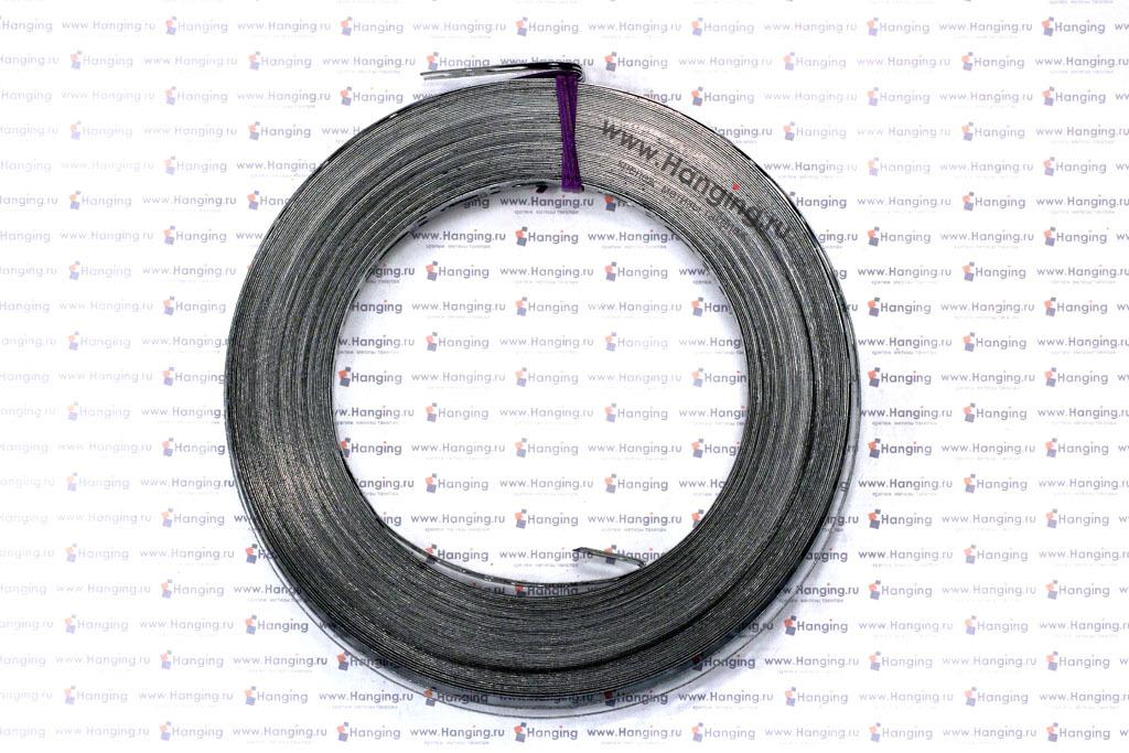 Монтажная перфорированная лента 17*0,5 мм с прямой кромкой