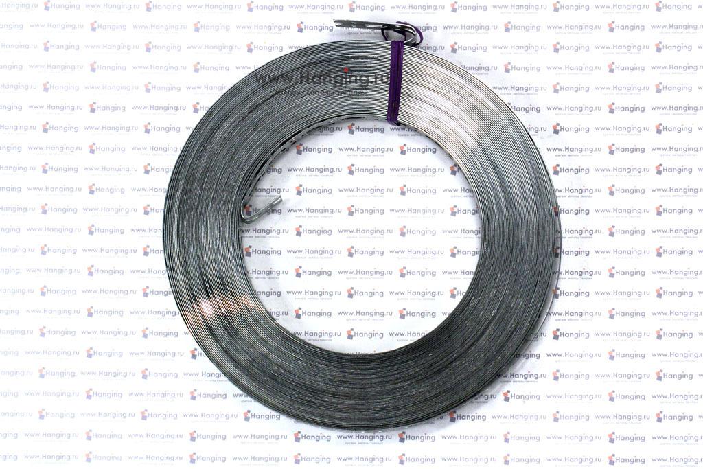 Монтажная перфорированная лента 17*0,7 мм с прямой кромкой