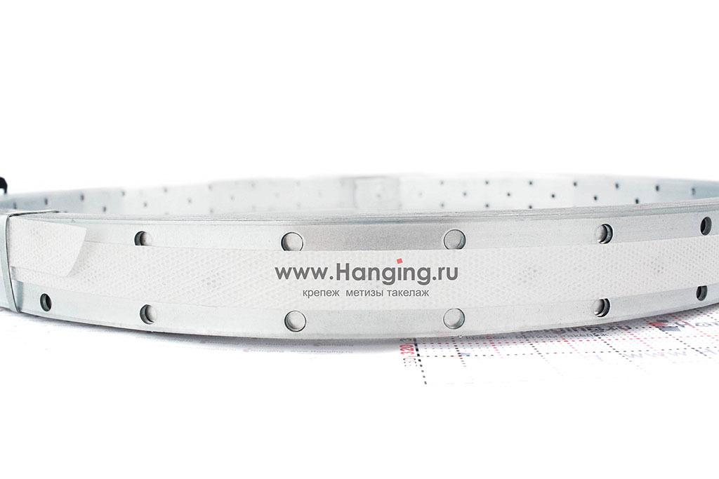 Размеры отверстий перфорированной монтажной металлической ленты 30х2