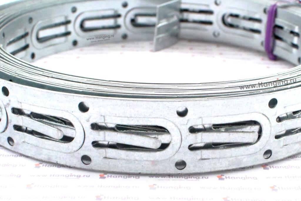 Оцинкованная лента для тёплого пола 20*0,5 мм
