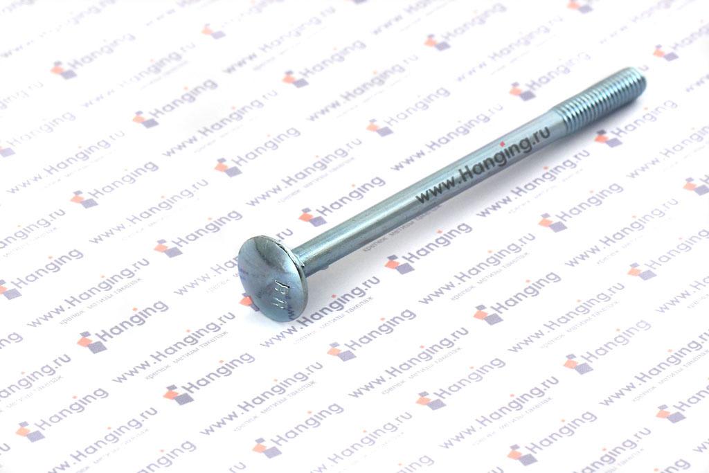 Болты М6х90 мебельные 4.6 оцинкованный DIN 603