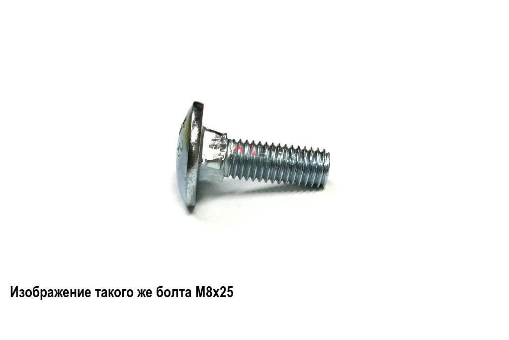 Болт М6х40 мебельный 8.8 оцинкованный DIN 603