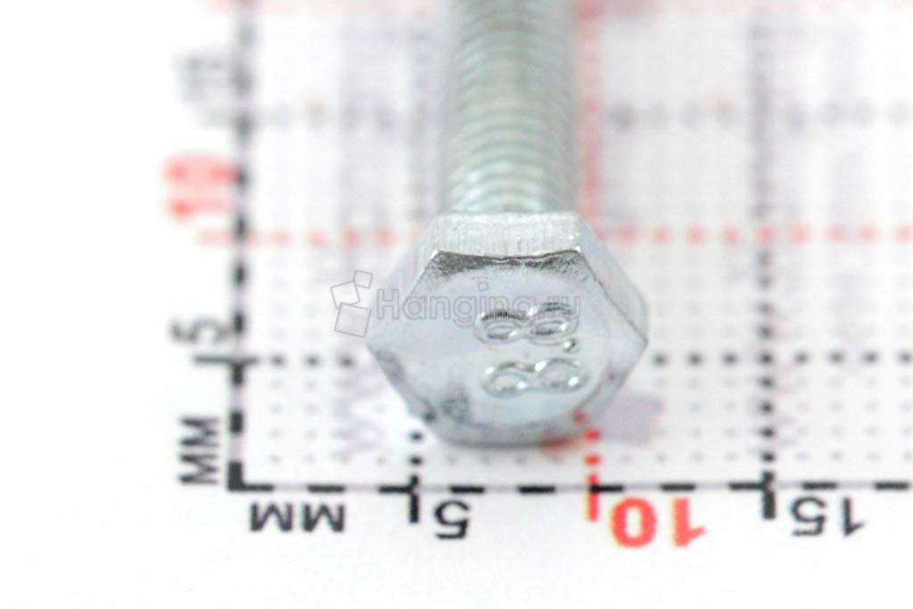 Головка болта DIN 933 цинк М4х20