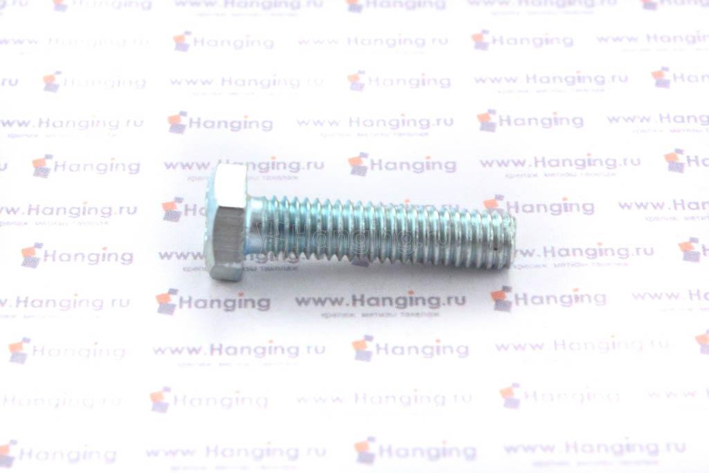 Болт DIN 933 8.8 М6*25 цинк
