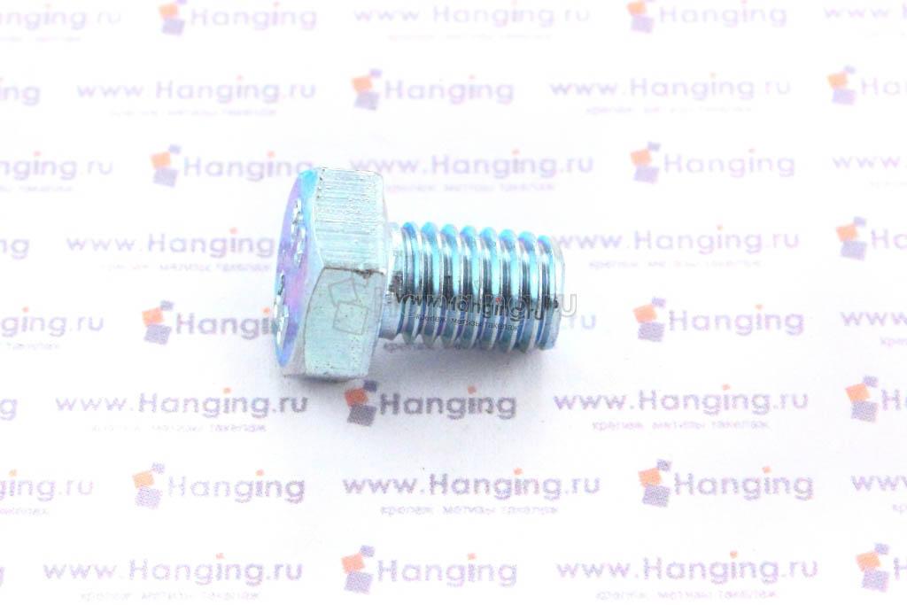 Болт DIN 933 8.8 М8*12 цинк