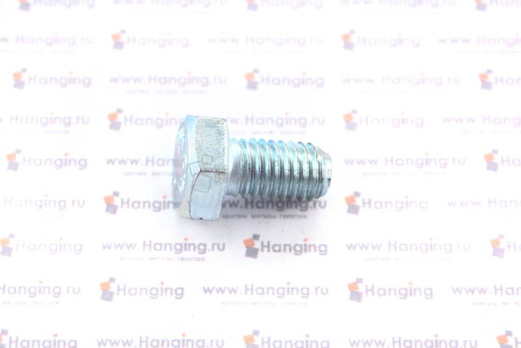 Болт DIN 933 8.8 М8*14 цинк