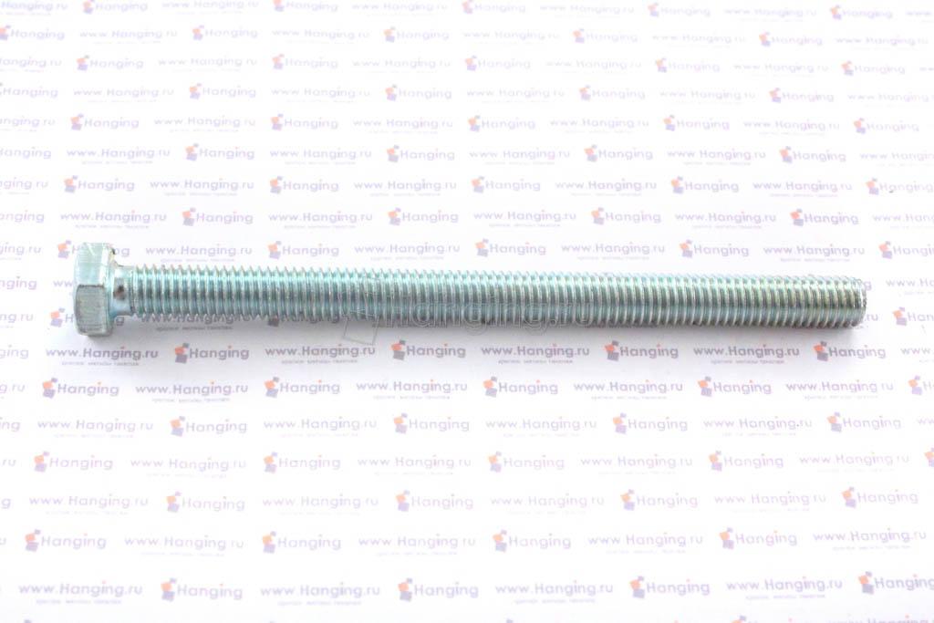 Болт DIN 933 8.8 М8*110 цинк