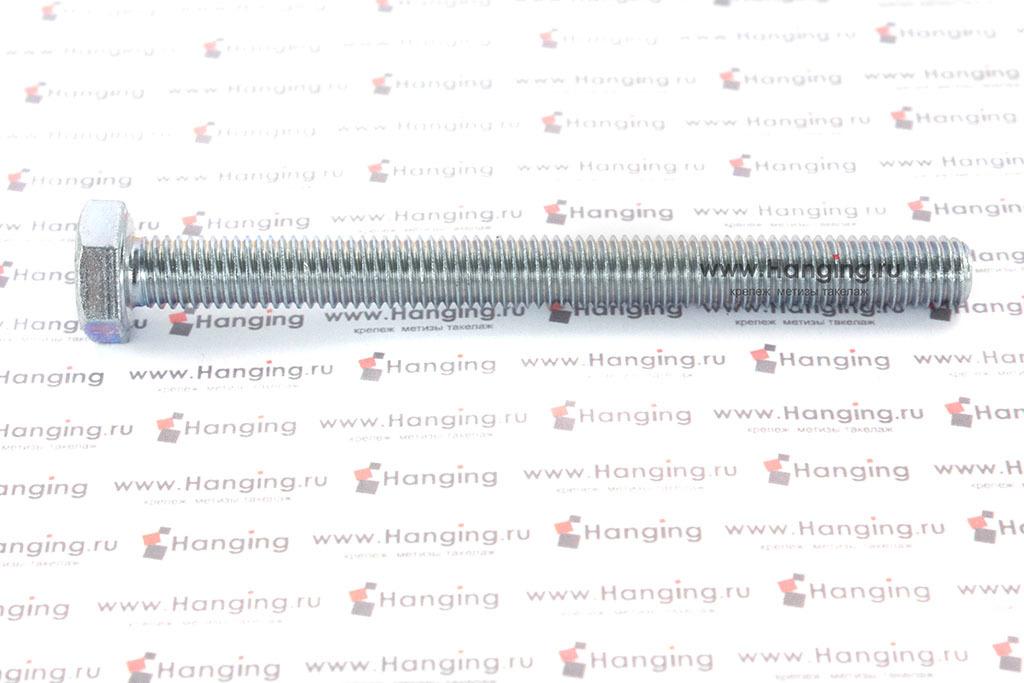 Болт DIN 933 8.8 М10*110 цинк