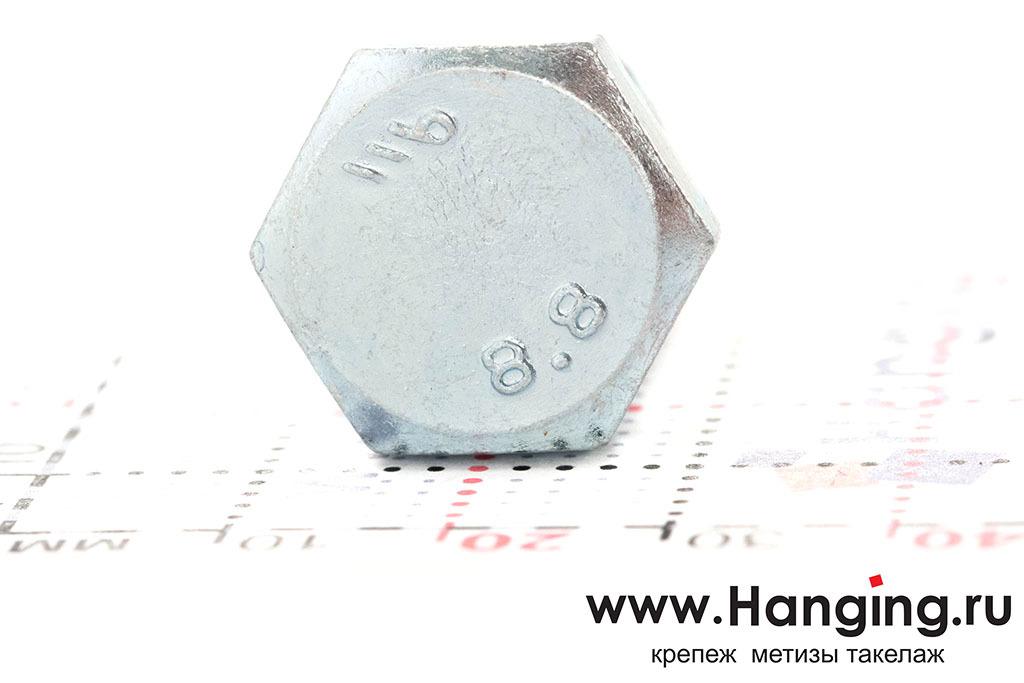 Головка болта DIN 933 цинк М12х35