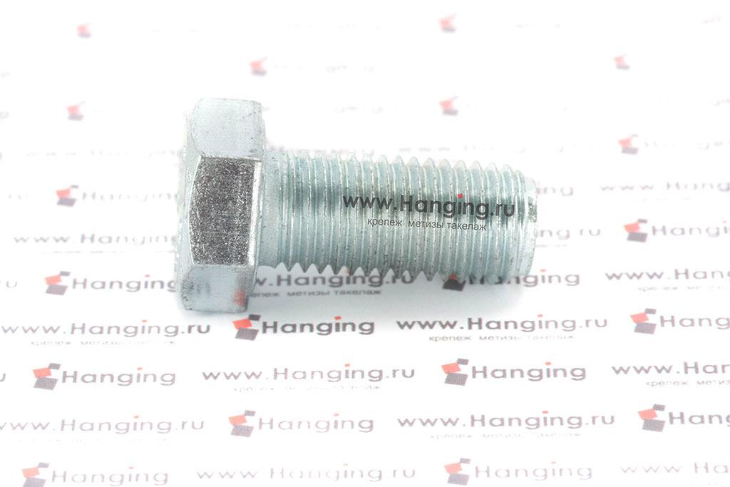 Болт DIN 933 8.8 М16*35 цинк