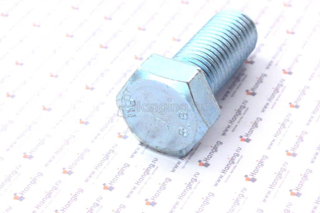 Болт оцинкованный с полной резьбой М16х40 оцинкованный