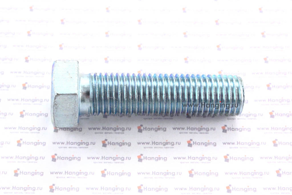 Болт DIN 933 8.8 М16*60 цинк
