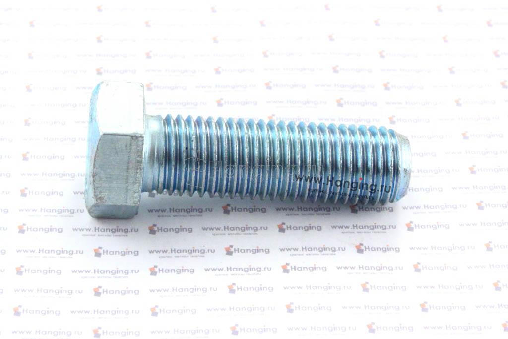 Болт DIN 933 8.8 М16*100 цинк