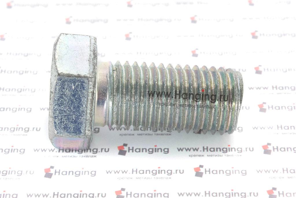 Болт DIN 933 8.8 М24*50 цинк