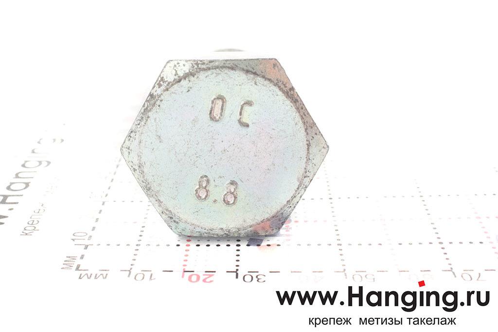 Головка болта DIN 933 цинк М24х50