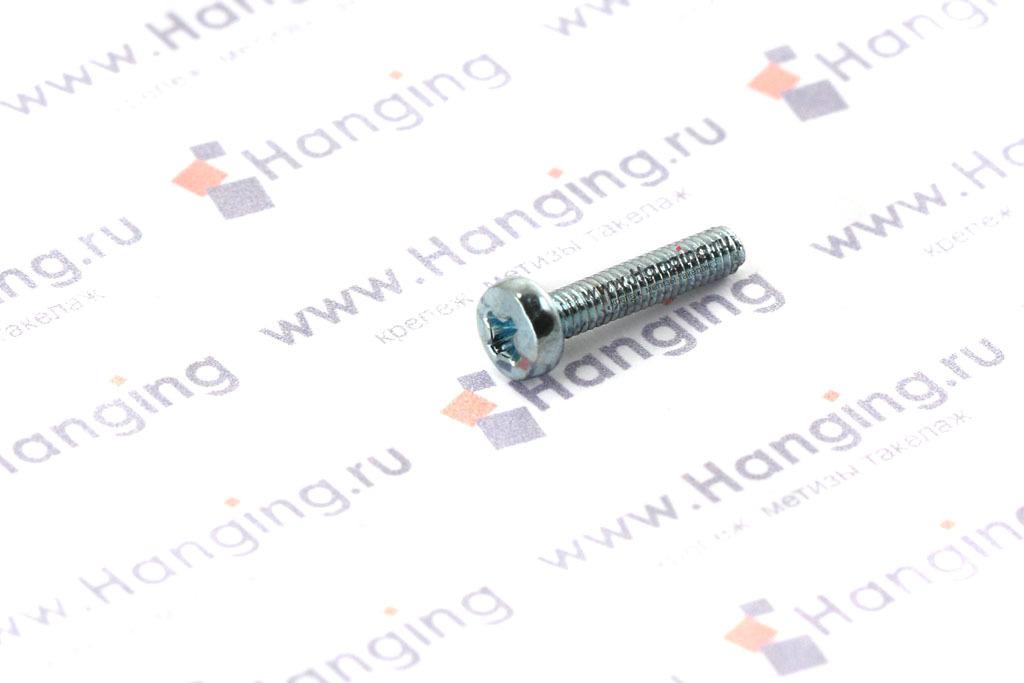 Винт DIN 7985 М2,5х12 цинк