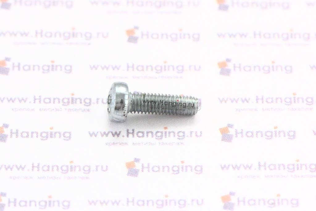 Винт DIN 7985 М3х10 цинк