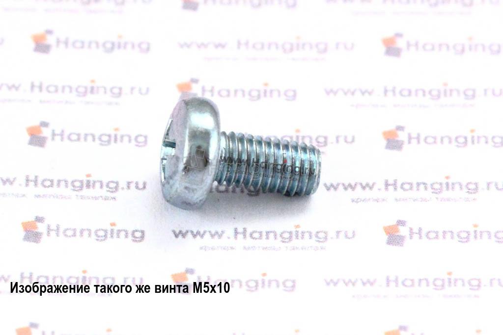 Винт DIN 7985 М6х80 цинк